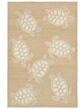 Neutral Turtle Capri Rug