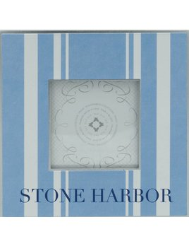 Blue Stone Harbor 3x3 Frame