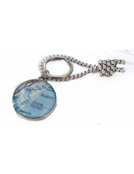 Stone Harbor Avalon Key Ring