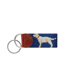 Yellow Lab Key Fob