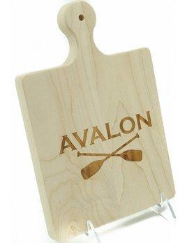 Avalon Oars ART 9x6 Cutting Board