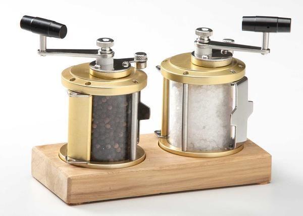 Ocean Reel Salt & Pepper Mill Set