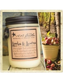 Apples & Acorns Soy Candle