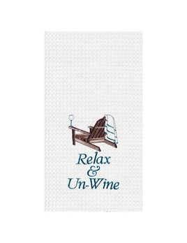 Relax & Un-Wine Kitchen Towel