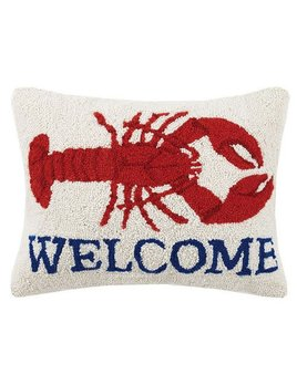 Welcome Lobster 14x18 Pillow