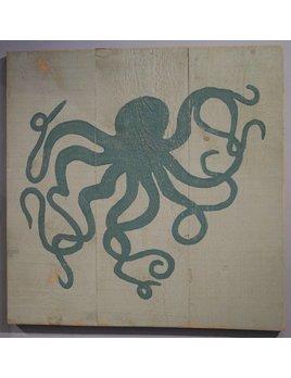 Palladian Blue Octopus 36x36