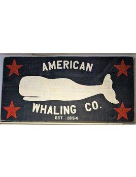 American Whaling Co Indigo Streamer 24x48