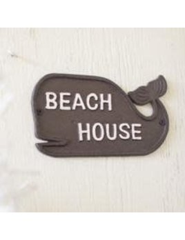 Beach House Whale Rustic