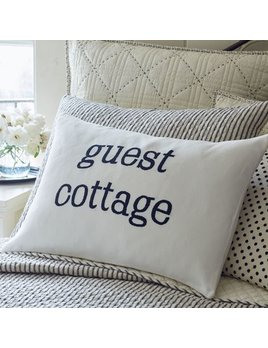Indigo Guest Cottage Pillow 16x24
