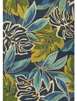 Covington Areca Palms Azure 2x4
