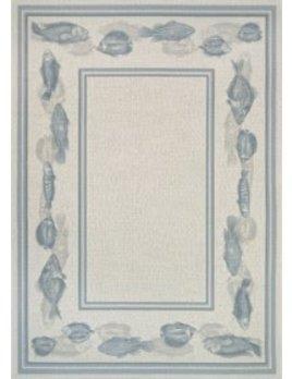 Dolce Corvina Ivory Light Blue 5x7