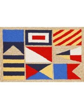 Signal Flags Rug 24x36