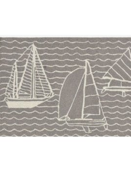 Grey Sails Capri Rug 24x36