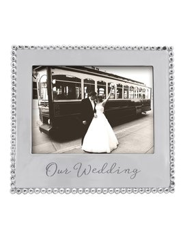 Our Wedding 5x7 Frame
