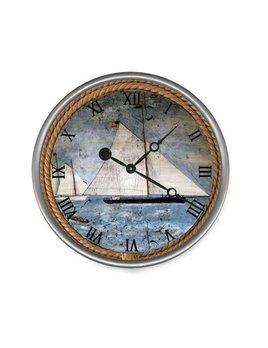 """Schooner Clock 23"""""""