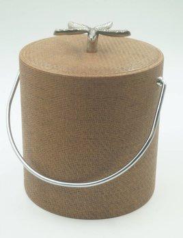 Beachwood Wicker 3qt Starfish Knob Ice Bucket