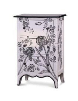 Provence Carlyle 3 Drawer Bow Front Chest