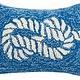 Nautical Knot Pillow 8x12