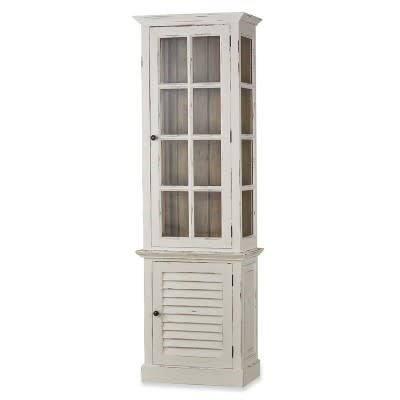 Cottage Collection  Cottage Tall Cabinet with Glass HRW