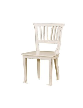 Cottage Collection  Manchester Dining Chair with Wooden Seat