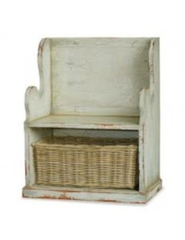 Homestead Collection Lincoln Entry Bench Small HRW