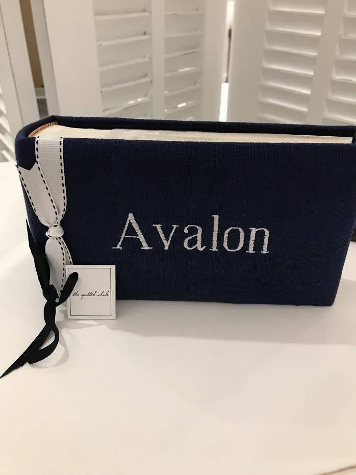 Avalon Album Navy White