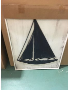 Sailboat Framed