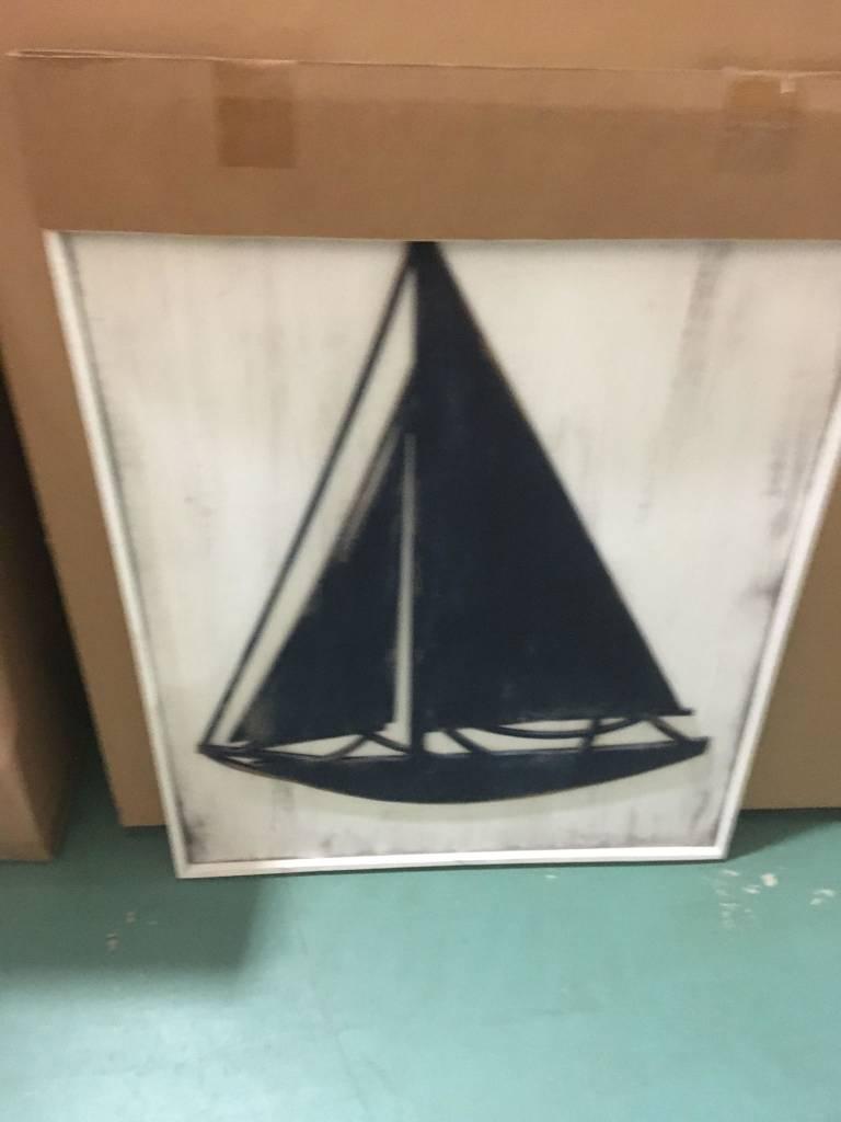 Sailboat Framed