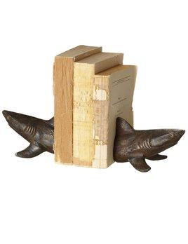 Shark Bookend Cast Iron
