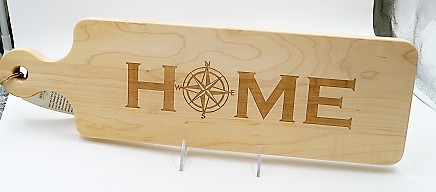 Cutting Board Home Compass 20x6