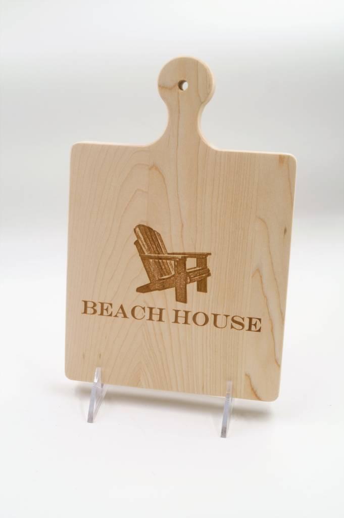 Cutting Board 9x6 Addy Chair Beach ART