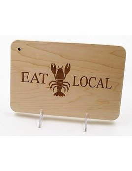 Eat Local Lobster Cutting Board 9x6