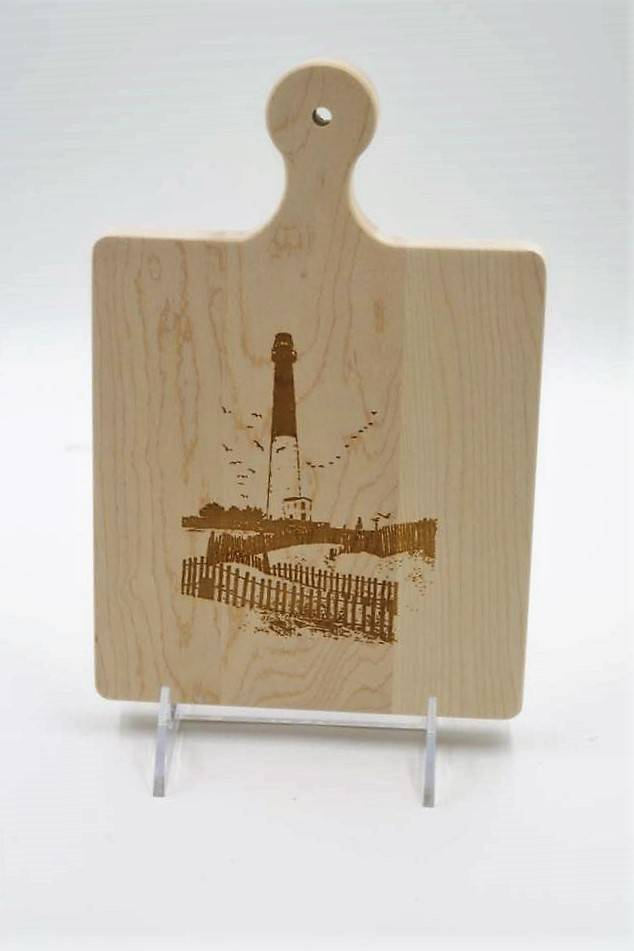 Cutting Board 9x6 Lighthouse Scene ART