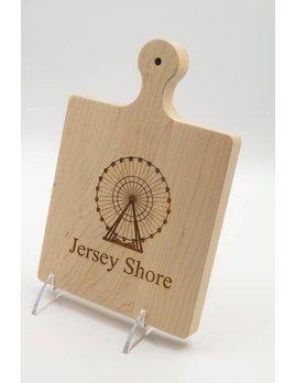 Jersey Shore Ferris Wheel Cutting Board 9x6