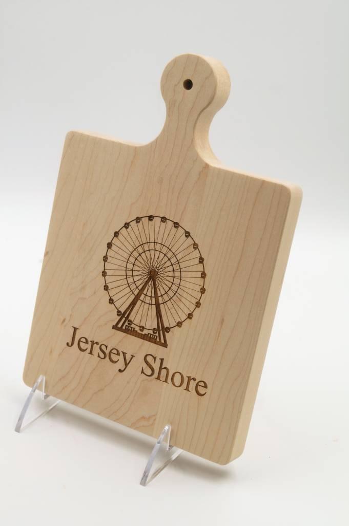 Cutting Board 9x6 Jersey Shore Ferris Wheel ART