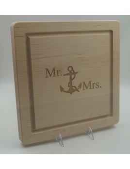 Mr Mrs Anchor 12x12