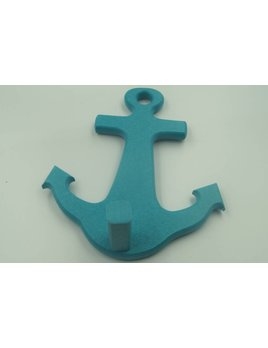 Teal Anchor Hook