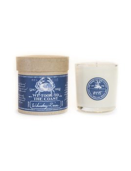 Whiskey River Glass Coast Candle