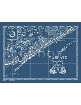 Margate 30x36 Map