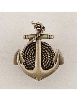 Anchor Rope Brass Knob
