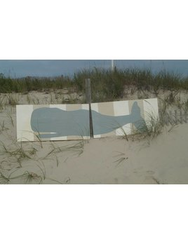 2 Panel Whale 2x8