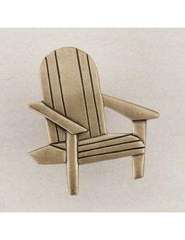 Beach Chair Brass Knob