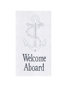 Welcome Aboard Kitchen Towel