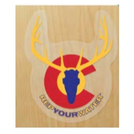 Rep Your Water Rep Your Water 2.0 Sticker - Colorado Elk