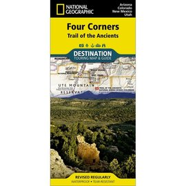 National Geographic Maps Four Corners Region - Trail of the Ancients