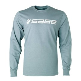 Sage Sage Logo Tee - Long Sleeve