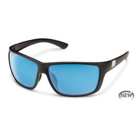 Suncloud Councilman (New) - Matte Black/Blue Mirror - Polarized Polycarbonate
