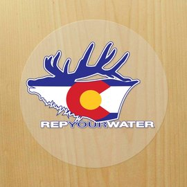 Rep Your Water Rep Your Water Sticker - Elk
