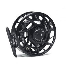 Hatch Outdoors Hatch Finatic - 4 Plus - Large Arbor Reel - Black/Silver