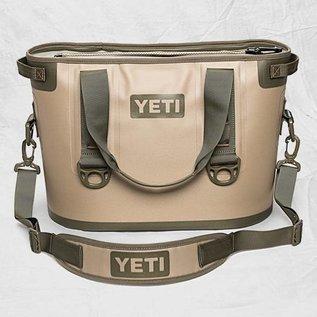 YETI YETI Hopper - Softsided Cooler - Tan/Blaze Orange - 20